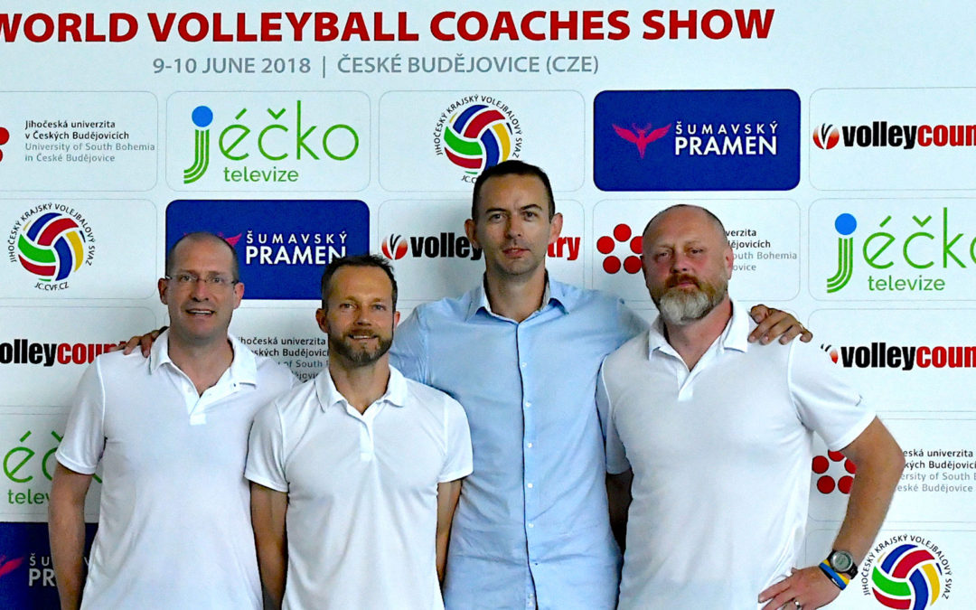 180 trenérů z Evropy se zúčastnilo World Volleyball Coaches Show 2018