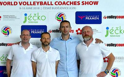 180 trenérů z Evropy se zúčastnilo World Volleyball Coaches Show 2018